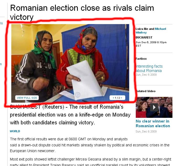 Romanian election close as rivals claim victory - Reuters_sml